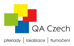 Tłumacz techniczny współpraca logo firmy QA Czech