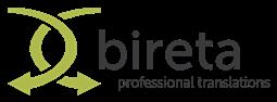 Tłumacz techniczny współpraca logo firmy Bireta